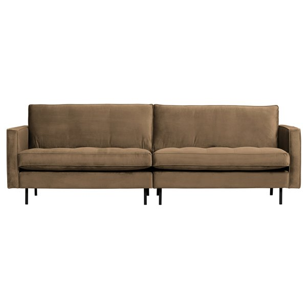 BePureHome Rodeo Classic Bank 3-zits  taupe - 83 cm x 275 cm x 88 cm